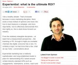 featured image Experiential: what is the ultimate ROI?